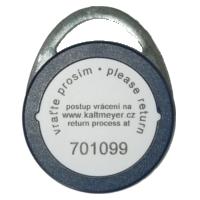 Čip s označením služby vrácení klíčů
